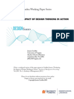 Impact of Design Thinking in Action