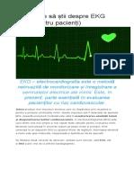 Ce Trebuie Să Știi Despre EKG