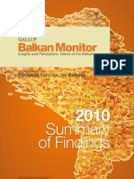 BalkanMonitor-2010 Summary of Findings