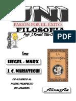 FILO - Hegel-marx y Mariategui