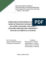 FORMACIONES SOCIOECONOMICAS