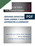 Resposabilidades de Los Lideres.