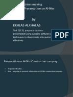 2 Ekhlas Alkhalas Business Decissin Making for 3.3 Answer