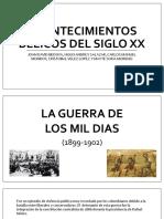 Acontecimientos Bélicos Del Siglo Xx