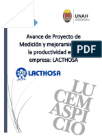 Proyecto Investigacion de Medicion de La Productividad Lacthosa