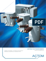 Distribution Transformers Brochure
