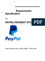 SRS Report On PayPal