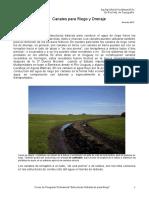 Canales Para Riego y Drenaje.pdf