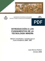 LABOREO I_libro1_Introduccion a los fundamentos de la tecnologia minera.pdf