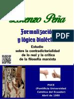 Formalización y lógica dialéctica