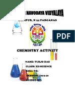 Chemistry Activity Finhal