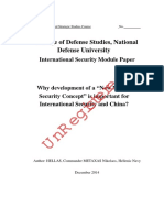 "Why development of a ""New Maritime Security Concept"" is important for International Security and China.pdf"