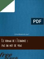 FreeTheWords - Le Roman de L__conomie ___pas Un Mot de Vrai
