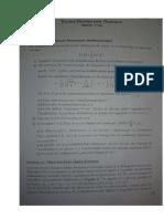 Examen Physique Pour l'Ingénieur