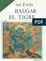 Cabalgar El Tigre - Evola Julius