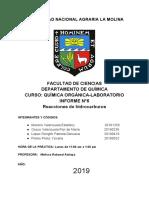Informe 6 Organica