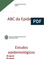 Estudos epidemiologicos