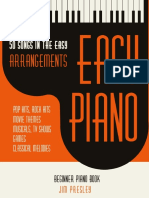 Presley, Jim - 50 Songs in the Easy Arrangements. Easy Piano Book