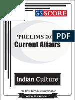 Indian Culture - PT Current Affairs 2017