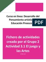 Artes y Juego. Grupo 2 (2019)