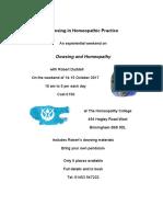 Dowsing and Homeopathy