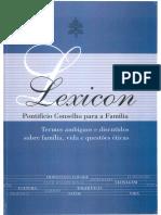 Lexicon - Conselho Pontifício para a Família