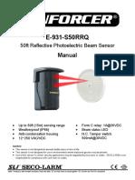 IR Beam Detector Mi E 931 S50RRQ