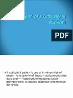 ICU Assessment Powerpoit Tuts1