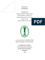 Informe 9. Fotosintesis