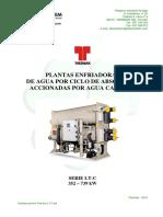 Enfriadoras accionadas por agua caliente - Thermax LT-C.pdf