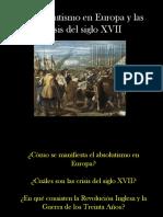 14 El Absolutismo en Europa y Las Crisis Del Siglo Xvii