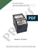 Manual Técnico - Banho Térmico Bloco Seco F-25N
