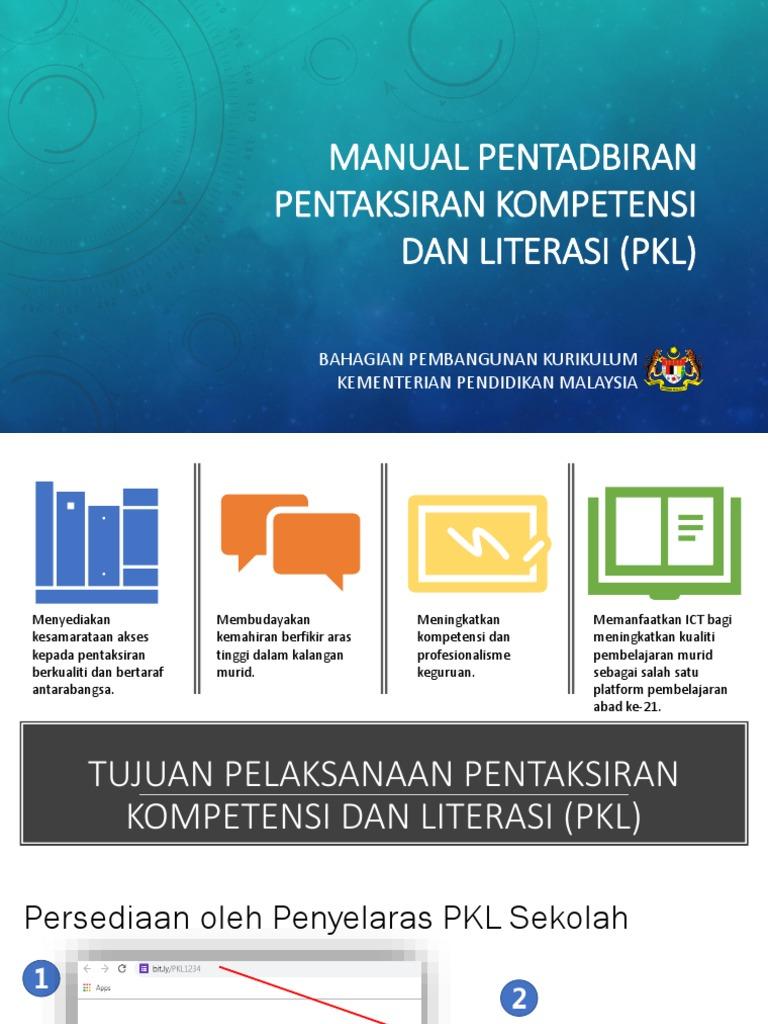 Pentaksiran Kompetensi Dan Literasi Sains Smk Sri Kukup Pontian
