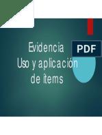 Evidencia 2_Aplicación de Items_Jorge Yesid Vásquez Rey