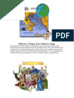 Historia y Origen de La Cultura Griega