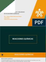 Reacciones Químicas y Balanceo de Ecuaciones Químicas