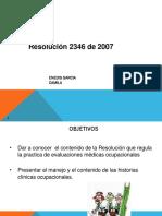 Resolucion 2346 - 2007