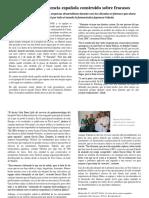 Un Éxito de La Ciencia Española Construido Sobre Fracasos