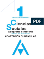 Adaptacion Curricular de Geografia e Historia