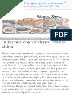 Vanesa Sierra  Photography food and recipes Tallarines con verduras, receta china.pdf