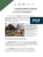 Comunicado de Prensa Rialengo & The Woods