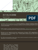 ECOLOGISM