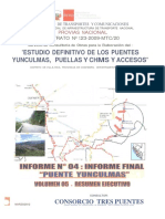 Puente Yunculmas - Vol. 05 - Resumen Ejecutivo