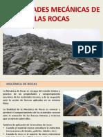 Propiedades Mecánicas de Las Rocas