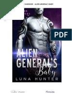 Luna Hunter - Zoran Warriors 01 - Alien General's Baby.pdf