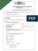 Álgebra de Boole Teoria - Postulados, Teoremas e Propriedades