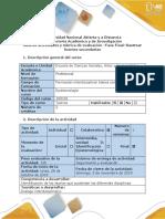 Guía de actividades y rúbrica de evaluación-Final- Rastrear fuentes secundarias.