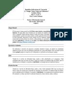 Pautas y Escalas LI 2019-20