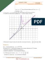 Serie d'Exercices Corrigés - Math - Continuité Et Limites - 3ème Math (2009-2010)