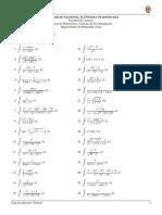 Ejercicios avanzados de integrales
